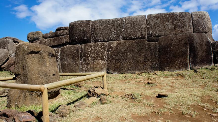 Muros perfectos de Ahu Vinapu.