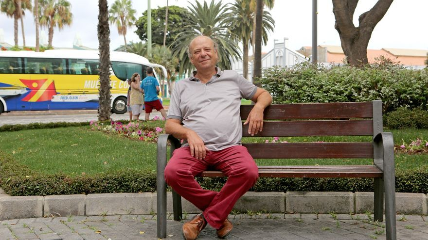 Óscar Bermejo, portavoz de la asociación El Sol sale para todos (Alejandro Ramos)