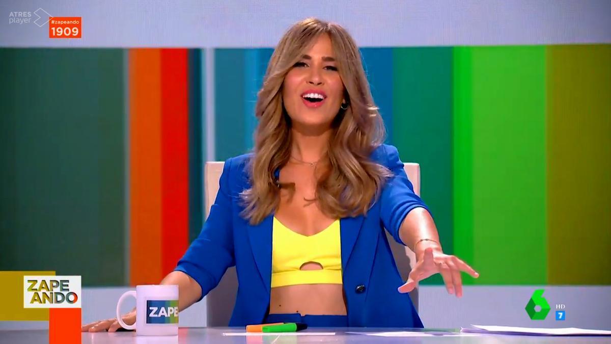 María Gómez en 'Zapeando' este viernes 6 de agosto
