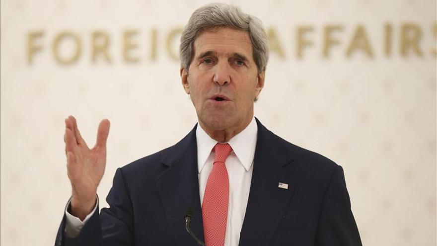 Kerry le pide Congreso que retrase las nuevas sanciones a Irán
