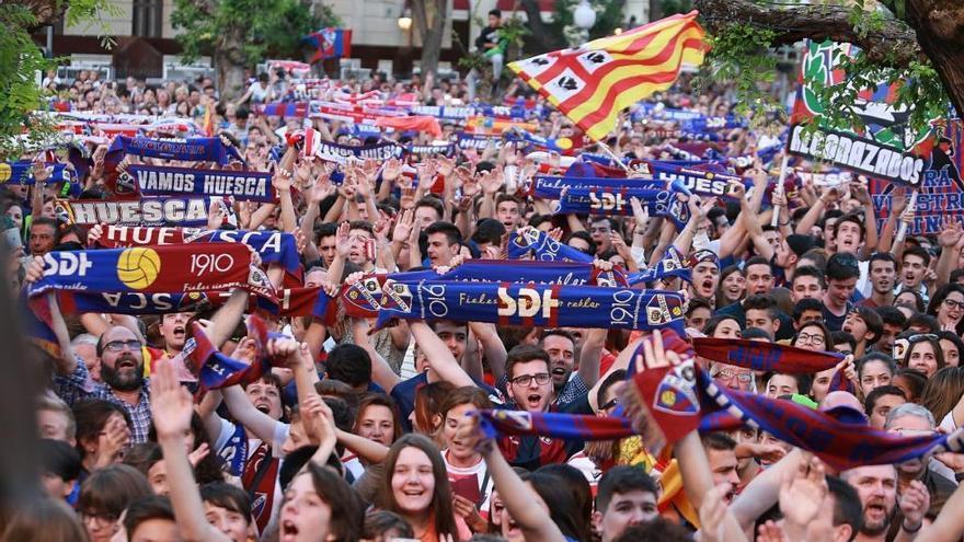 Se calcula que durante toda la Liga el nombre de Huesca tendrá 850 millones de visualizaciones