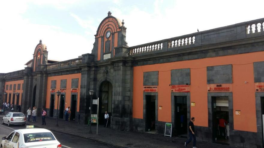 Fachada del Mercado de Vegueta.