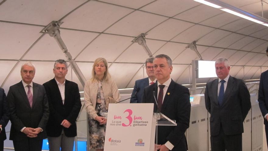 """Urkullu recuerda """"el sufrimiento"""" de las víctimas de quienes """"utilizaron el nombre de Euskadi"""""""