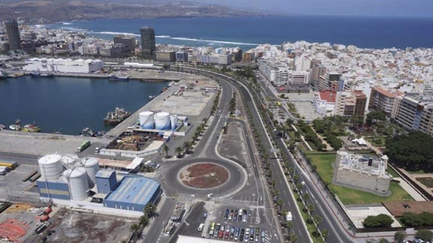 Puertos de Las Palmas licita el contrato del proyecto denominado 'Nuevo control de accesos al Muelle Pesquero desde la Avenida de los Consignatarios', en el Puerto de La Luz.