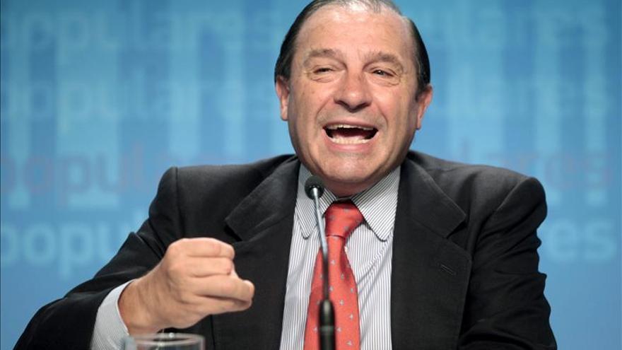 El exdiputado del PP por Murcia, Vicente Martínez Pujalte, en una foto de archivo