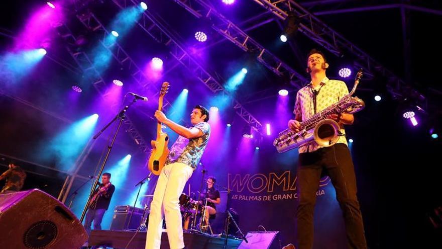 El grupo español The Limboos en Womad Las Palmas de Gran Canaria.