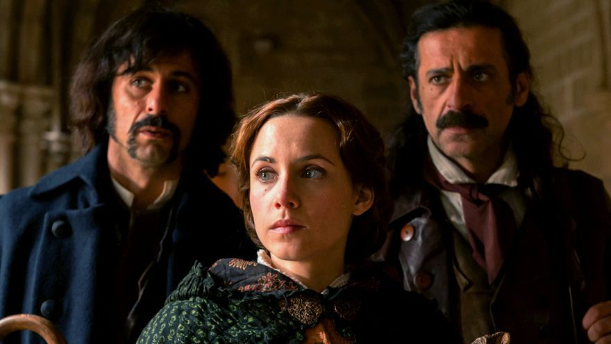 El trío protagonista de 'El Ministerio del Tiempo' en la tercera temporada