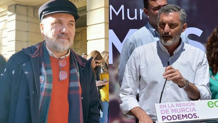 José Luis Álvarez-Castellano (Cambiar la Región de Murcia), Óscar Urralburu (Podemos)
