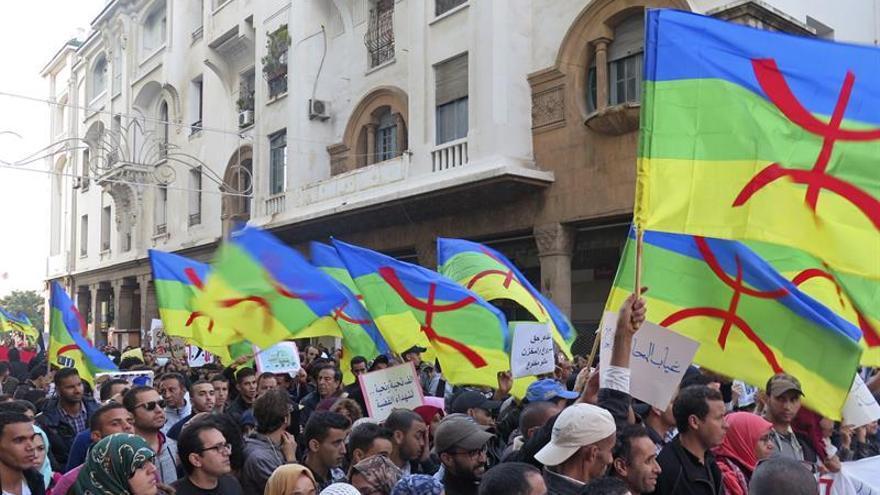 Miles de personas protestan en el norte de Marruecos contra la marginación