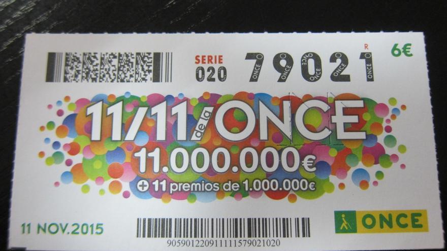 El Extra del 11/11 de la ONCE deja un millón de euros en Bilbao