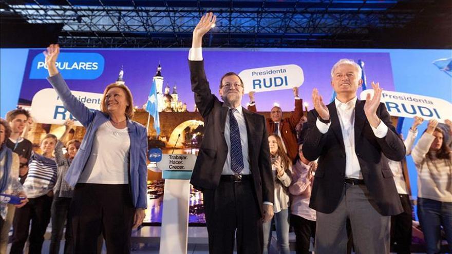"""Rajoy afirma que el PP """"no es una pandilla ni una moda pasajera"""""""