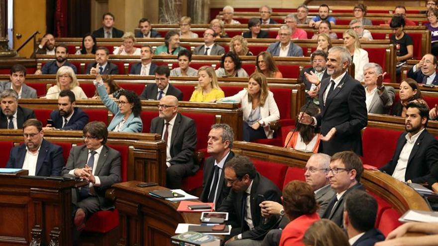 La Mesa acuerda posponer pleno del Parlament hasta después del 1 de octubre