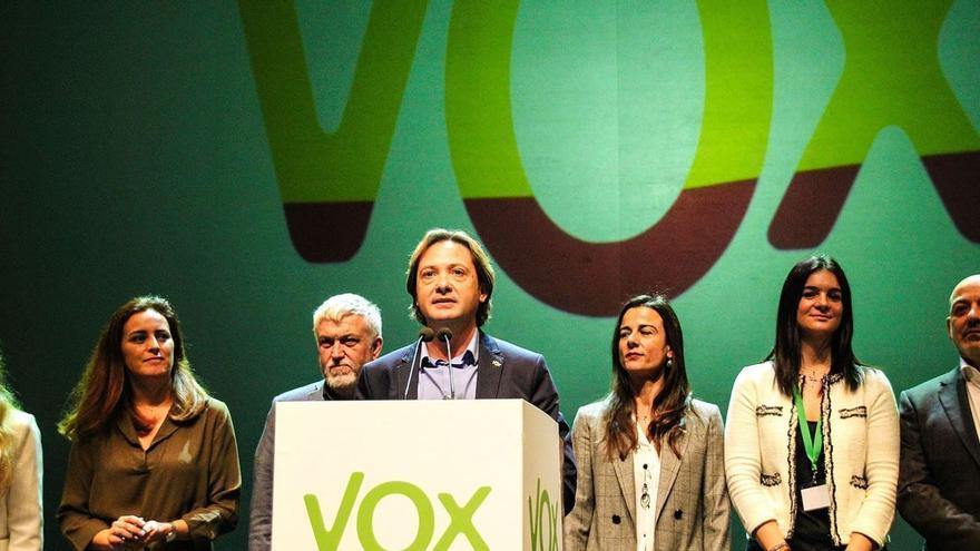 Jorge Campos, candidato de Vox en Baleares