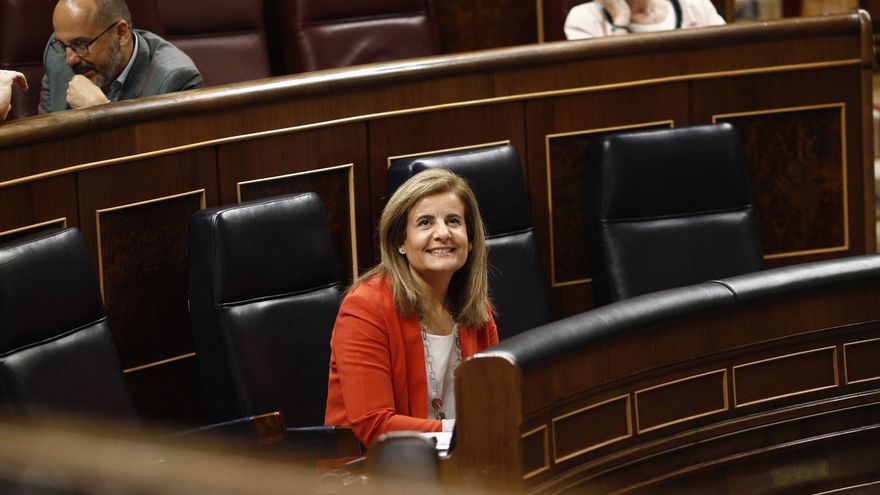 La ministra de Empleo, Fátima Báñez. EUROPA PRESS