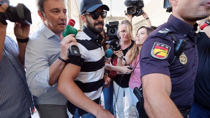 Terminan las declaraciones en la vista por la libertad del guardia civil de La Manada