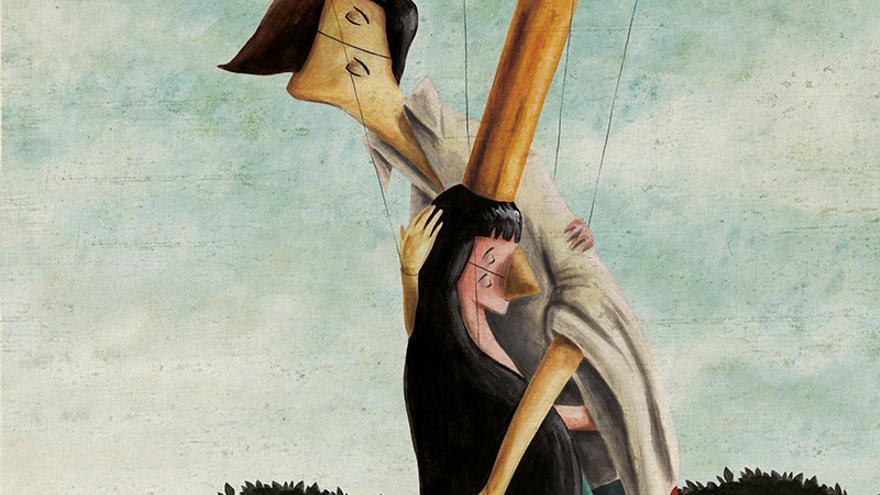 'Presentes', el álbum ilustrado que habla de violencia de género de la editorial sevillana Avenauta.