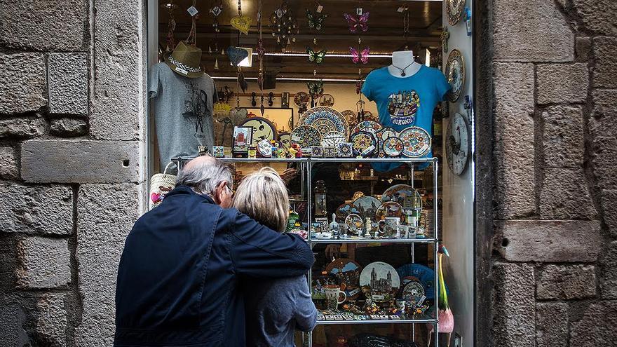 La gentrificació s'escampa: els turistes expulsen els veïns del Barri Vell de Girona