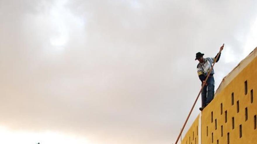Exhibición de salto del pastor. (LA HOYILLA)