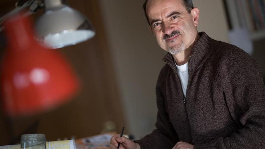 Daniel Torres se refugia en sus viñetas, su patria, para huir del procés