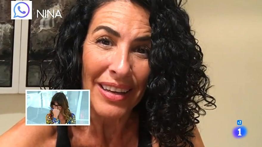 Nina y Llàcer dedican unos emotivos mensajes a Noemí Galera en el chat de OT