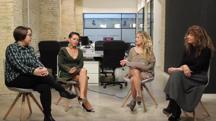 Anna Moner, Alba Fluixà i Lourdes Toledo