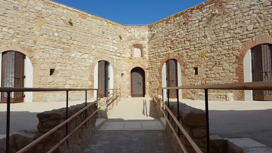 Aspecto del fuerte de Victoria Grande tras la restauración / R. Q.