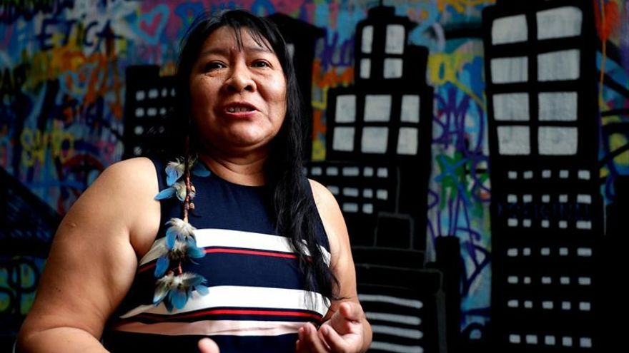 Wapichana, la primera diputada indígena de Brasil que promete ser resistencia