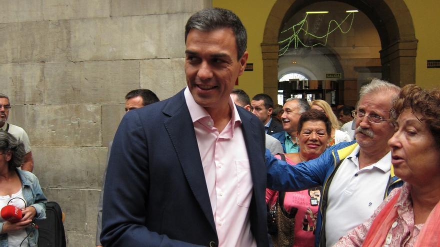 """Pedro Sánchez: """"Que no se equivoque nadie, estaremos en la solución como alternativa que somos al PP"""""""