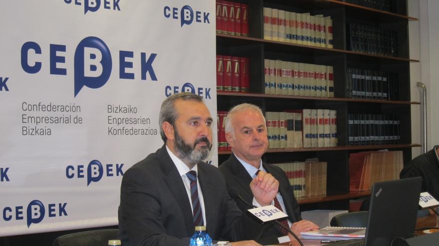"""Cebek cree que el pacto """"entre diferentes"""" de PNV y PSE es """"una lección importante"""" para las relaciones laborales"""