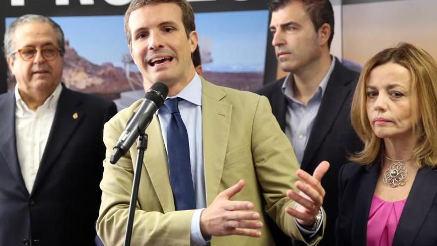 Pablo Casado promete destinar el 2 % del PIB a I+D+i