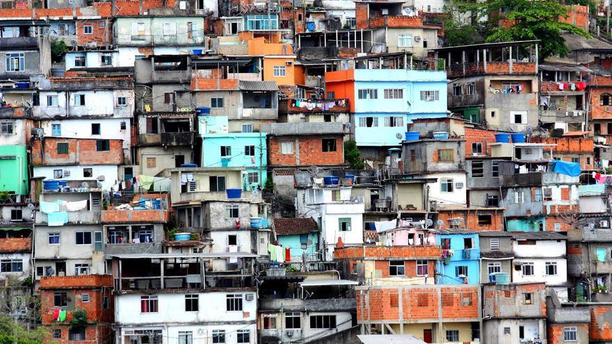 Casas en la Favela do Prazeres. Dany13