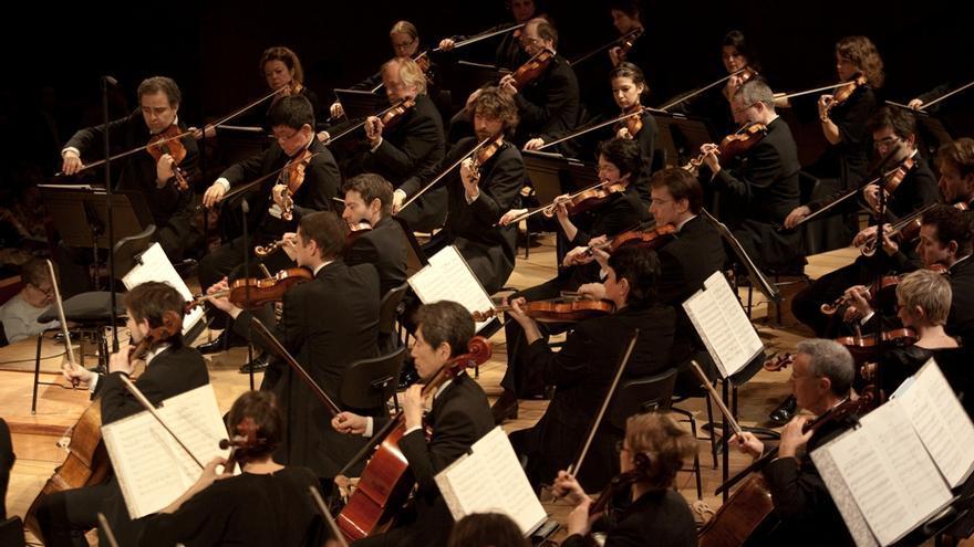 Orquesta de París.