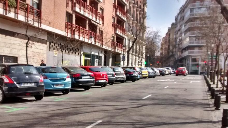 Nueva disposición de coches en batería en Santa Cruz de Marcenado   SOMOS MALASAÑA