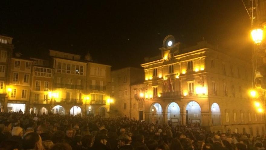 Concentración en Ourense, una de las más numerosas