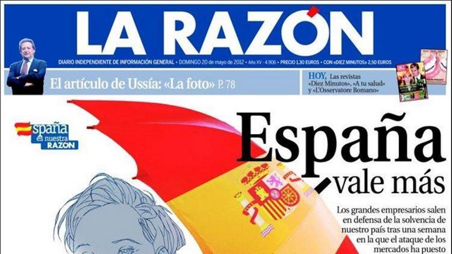 De las portadas del día (20/05/2012) #10