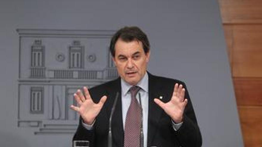 RDP de Artur Mas en la Moncloa