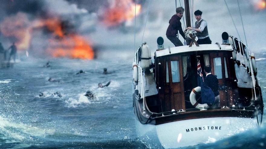 """El mar"" en Dunkerque, de Christopher Nolan"