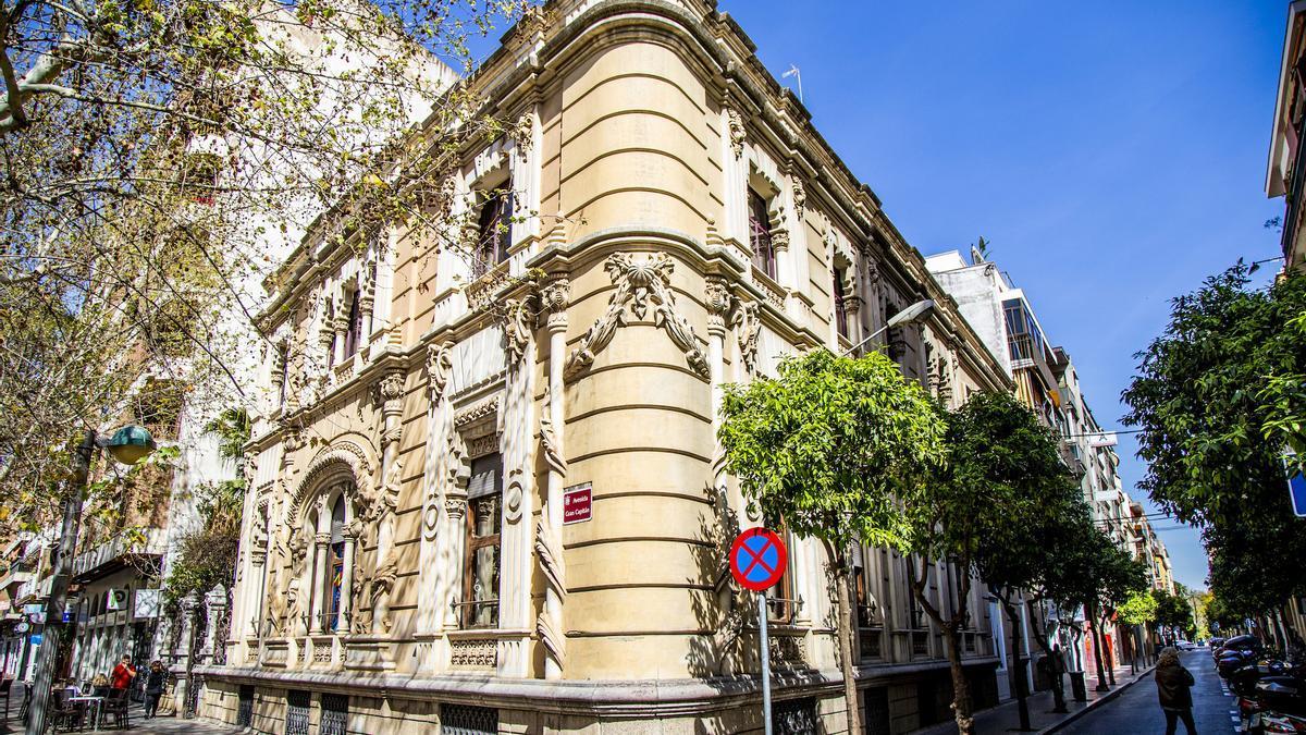 Fachada del Colegio de Arquitectos de Córdoba