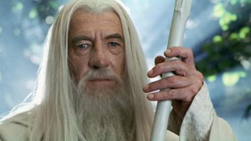 Gandalf en El Señor de los Anillos Ian McKellen