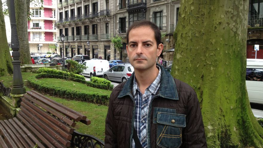 Asier González, hermano de Yolanda González asesinada por el ultra Emilio Hellín.