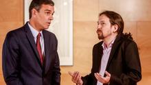 """Iglesias confía en una coalición porque si el PSOE pacta con el PP """"será la última vez que gobierne"""""""