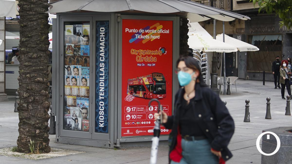 Kiosco Tendillas Camacho cerrado