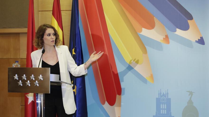 Díaz Ayuso dejará el Gobierno de la Comunidad para centrarse en la portavocía del PP de Madrid