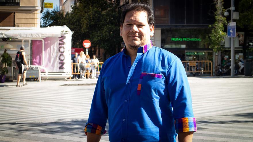 Donny Reyes, activista LGTBI y presidente de la Asociación Arcoíris de Honduras