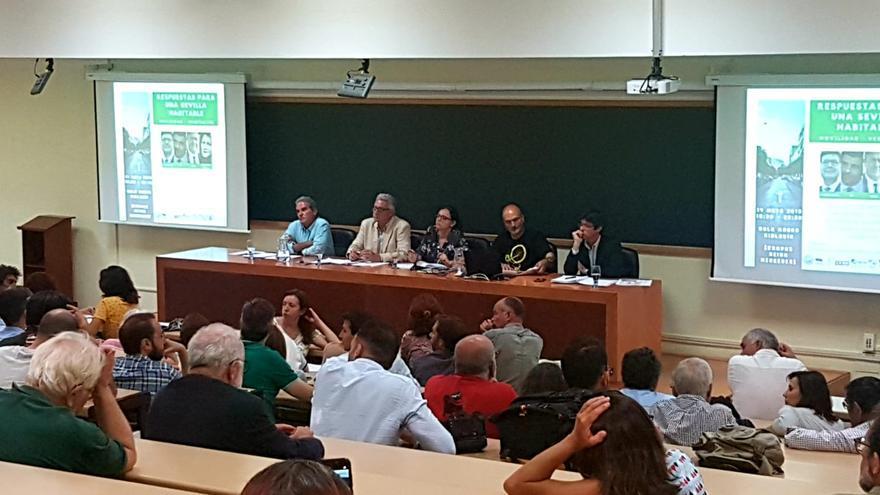 Debate municipal por una Sevilla verde /Foto: C.S.