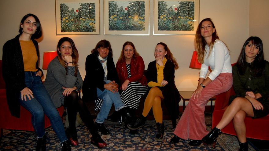 Celia Rico, Paola García Costas, Remedios Málvarez, Vanesa Benítez, Laura Alvea, Laura Hofman, Carmen Blanco