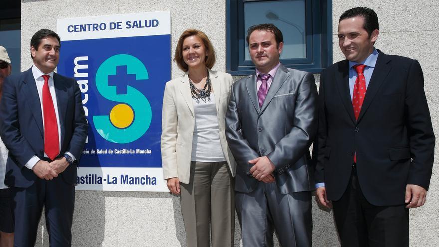 Cospedal inaugura el centro de salud de Calatrava