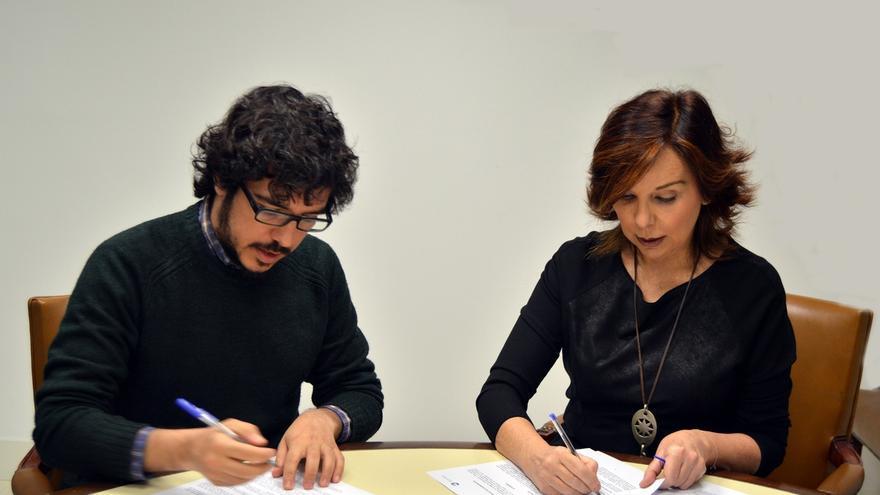 Transparencia firma un protocolo de colaboración con OpenKratio para  formar y sensibilizar sobre el derecho a saber