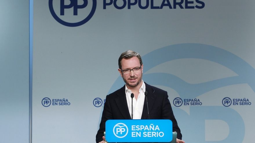 """Maroto dice a C's que la mejor manera de """"renovar equipos"""" es que entren en el gobierno, y extiende la oferta al PSOE"""