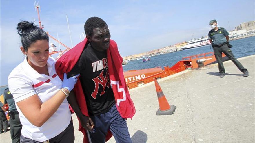 Rescatados 51 inmigrantes en siete pateras, una de ellas llevada a Tarifa